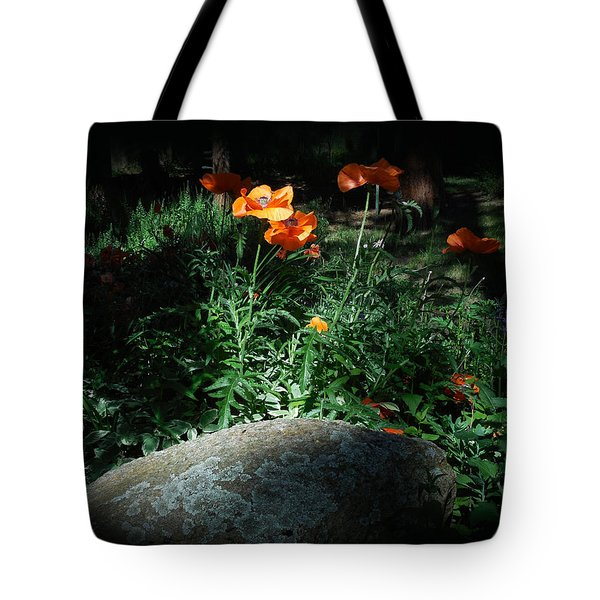 Rocky Mt. Poppies  Tote Bag