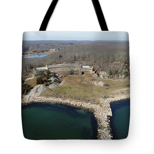 Rocky Neck Paviliion Tote Bag