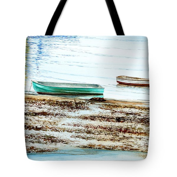 Rocky Neck Runabout Skiff Tote Bag