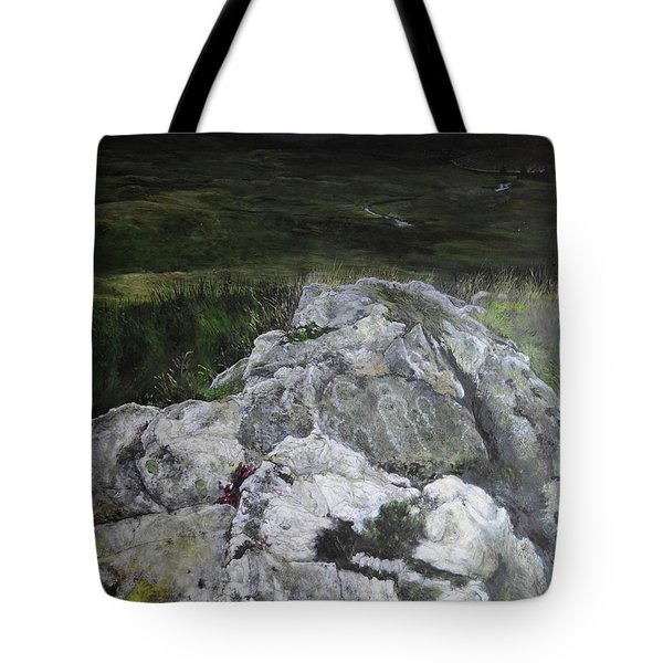 Rocky Outcrop Tote Bag by Harry Robertson
