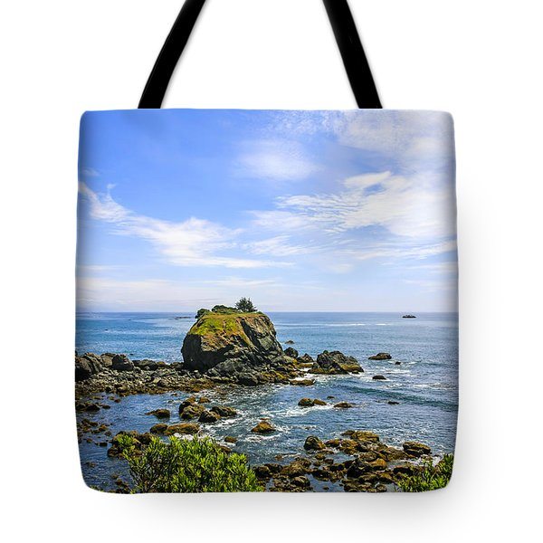 Rocky Pacific Coastline Tote Bag