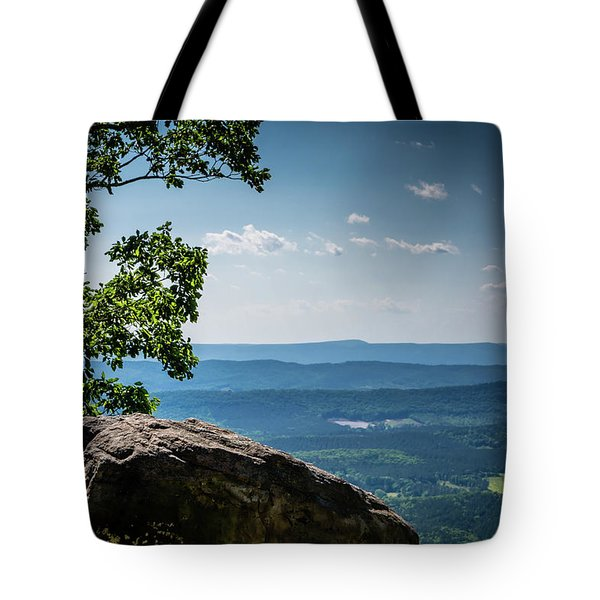 Rocky Perch Tote Bag