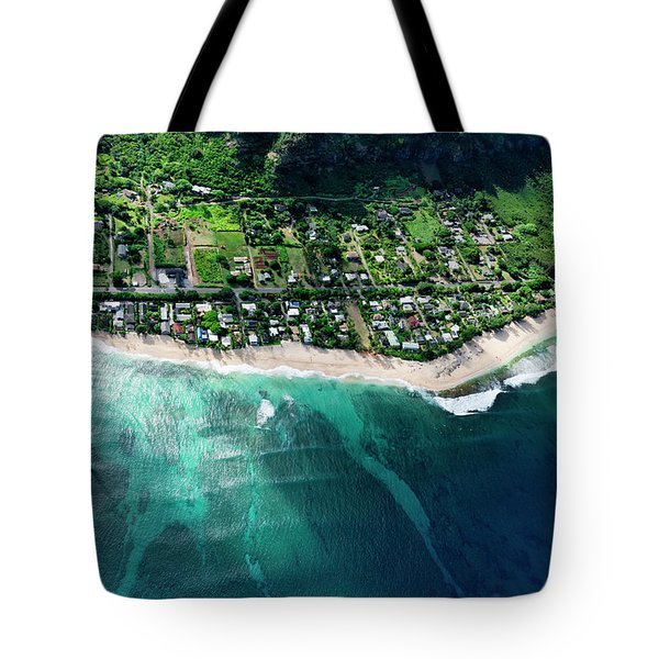 Rocky Point Overview. Tote Bag