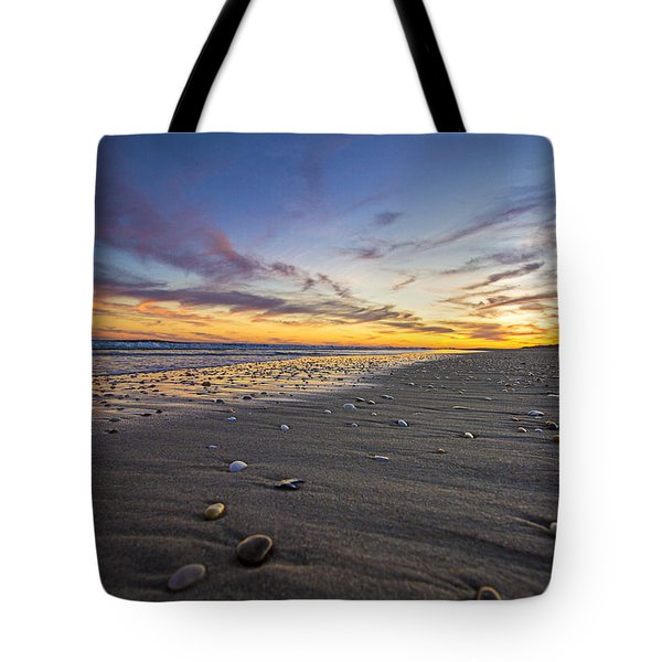 Rocky Roger's Beach Sunset Tote Bag
