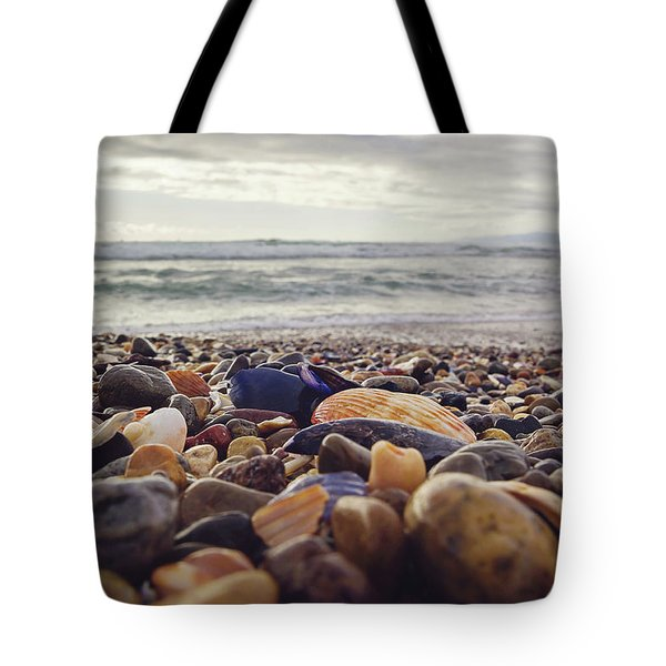 Tote Bag featuring the photograph Rocky Shore by April Reppucci
