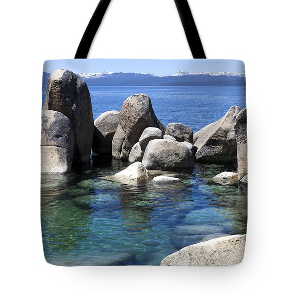 Rocky Shore Tote Bag by Janet Fikar