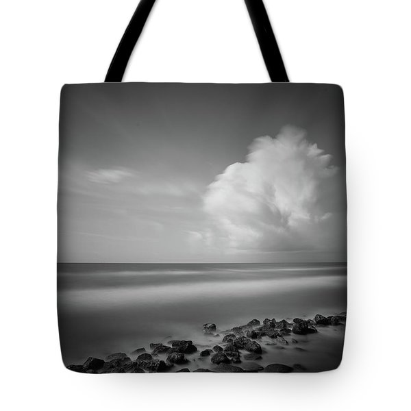 Rocky Shoreline Tote Bag