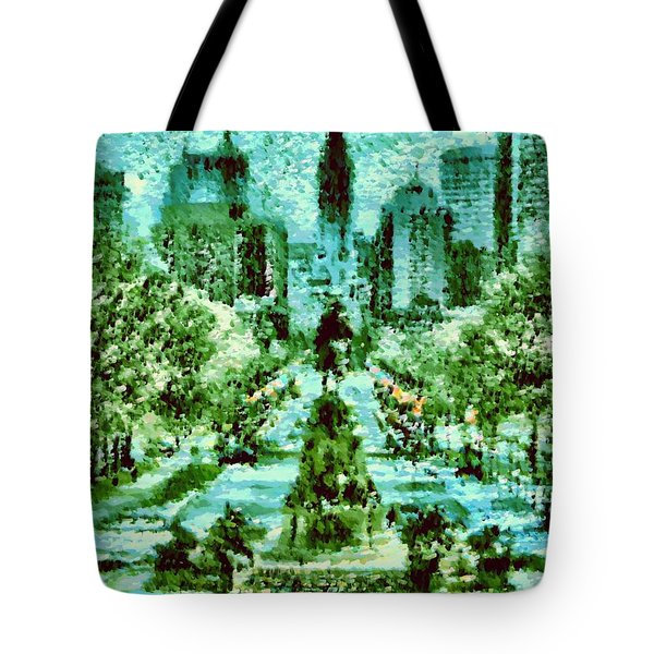 Rocky's View Tote Bag