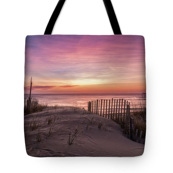 Rodanthe Sunrise Tote Bag