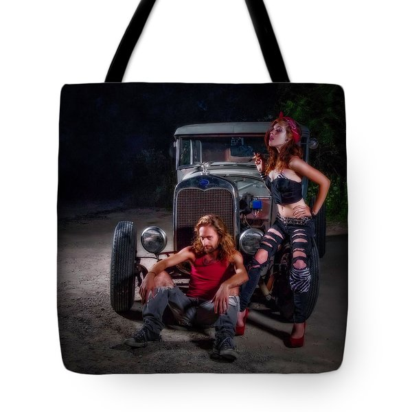 Rodders Tote Bag by Jerry Golab
