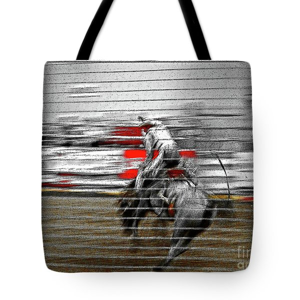 Rodeo Abstract V Tote Bag