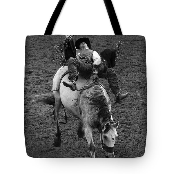 Rodeo Bareback Riding 13 Tote Bag