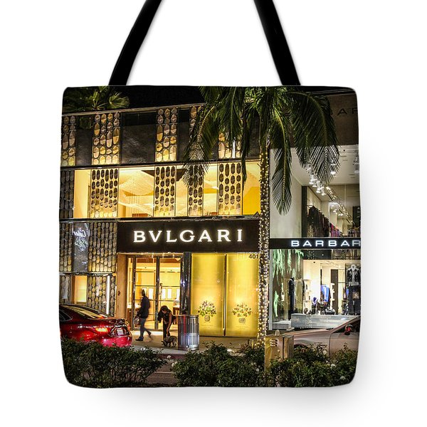 Tote Bag featuring the photograph Rodeo Drive 1 by Robert Hebert