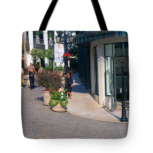 Rodeo Drive, Beverly Hills, California Tote Bag by Panoramic Images