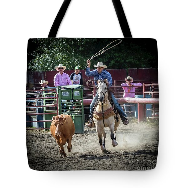 Cowboy In Action#1 Tote Bag