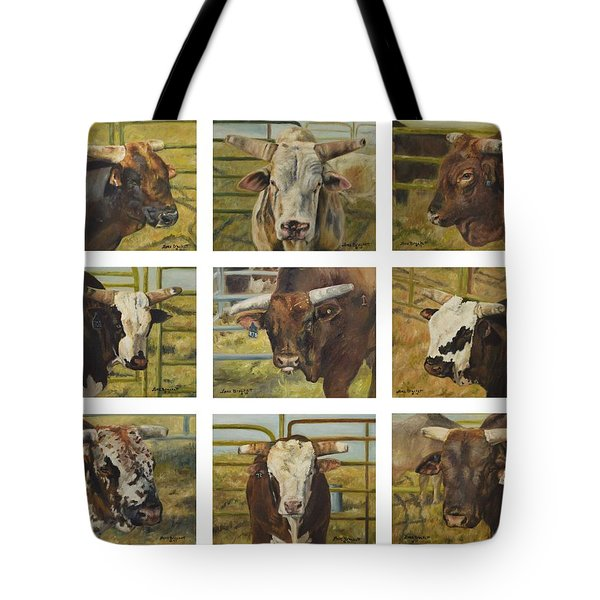Rodeo Royalty Tote Bag by Lori Brackett