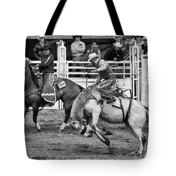 Rodeo Saddleback Riding 2 Tote Bag