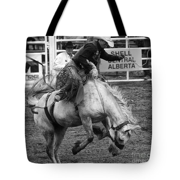 Rodeo Saddleback Riding 3 Tote Bag