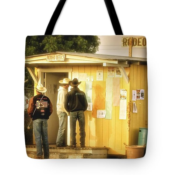 Rodeo The Next Go Round Tote Bag