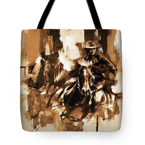 Rodeo Woman  Tote Bag