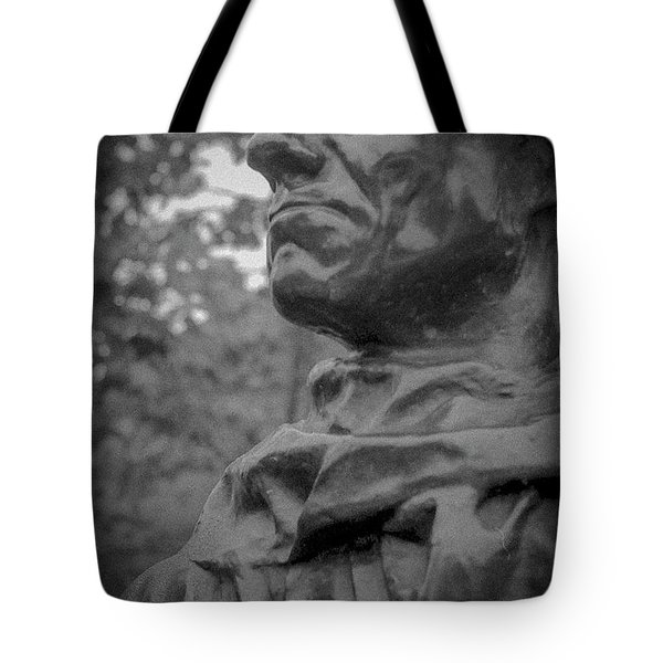 Tote Bag featuring the photograph Rodin Burgher - II by Samuel M Purvis III