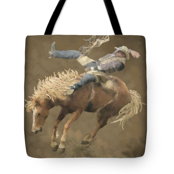 Rodeo Rider Tote Bag