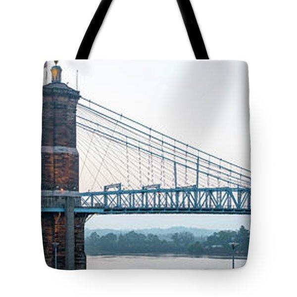 Roebling Bridge Tote Bag