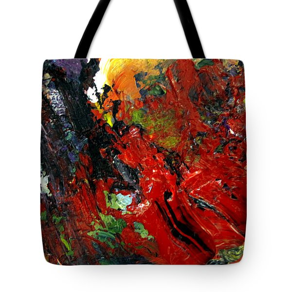 Tote Bag featuring the painting Roen by Charlie Spear