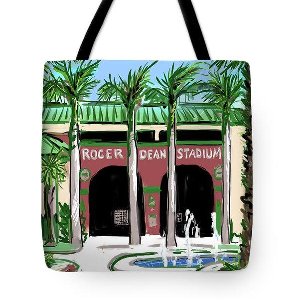 Roger Dean Stadium Tote Bag