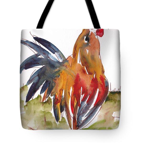 Rognonas Rooster Tote Bag