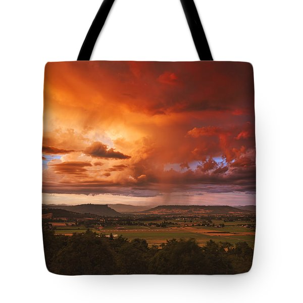 Rogue Valley Sunset Tote Bag