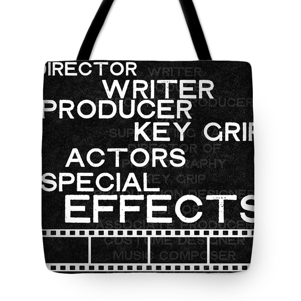 Roll Credits- Art By Linda Woods Tote Bag