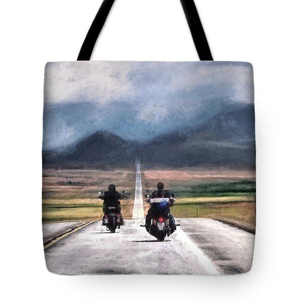Roll Me Away Tote Bag