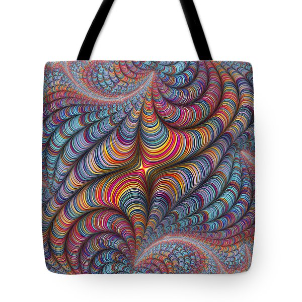 Rolled Blanket Bingo Tote Bag