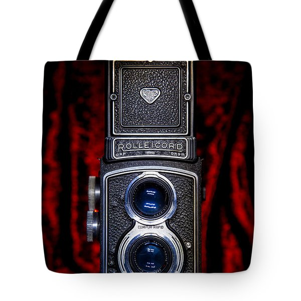 Tote Bag featuring the photograph Rollei by Keith Hawley