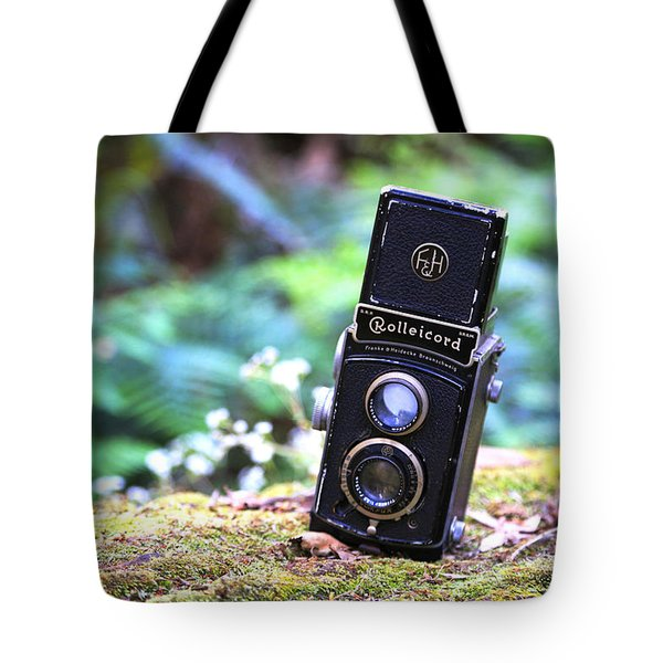 Tote Bag featuring the photograph Rolleicord 2 by Keith Hawley