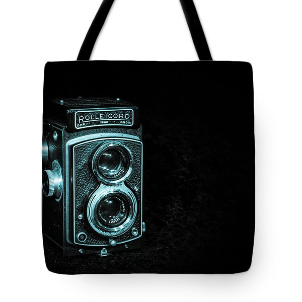 Tote Bag featuring the photograph Rolleicord by Keith Hawley