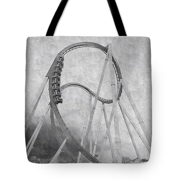 Hulk Roller Coaster Ride Tote Bag