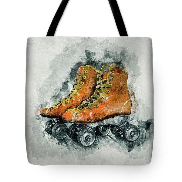 Roller Skates Tote Bag