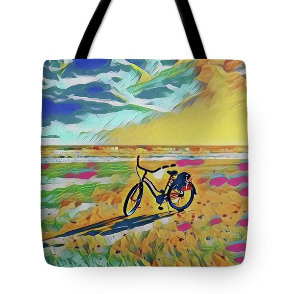 Rollin' Away Tote Bag