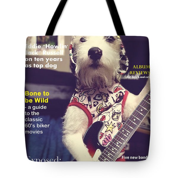 Rolling Bone Magazine Tote Bag
