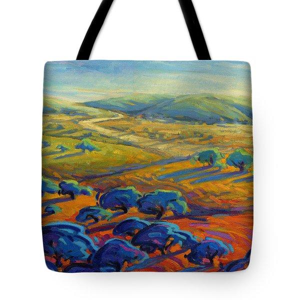 Rolling Hills 3 Tote Bag