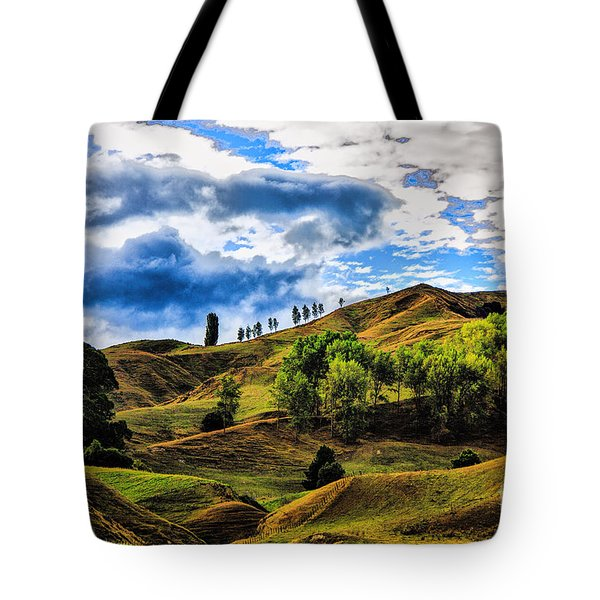 Tote Bag featuring the photograph Rolling Hills by Rick Bragan