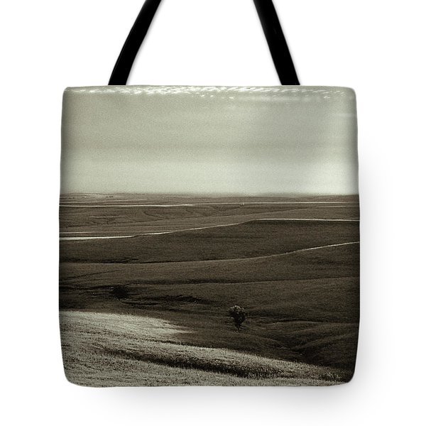 Rolling Hills Toned Tote Bag by Thomas Bomstad