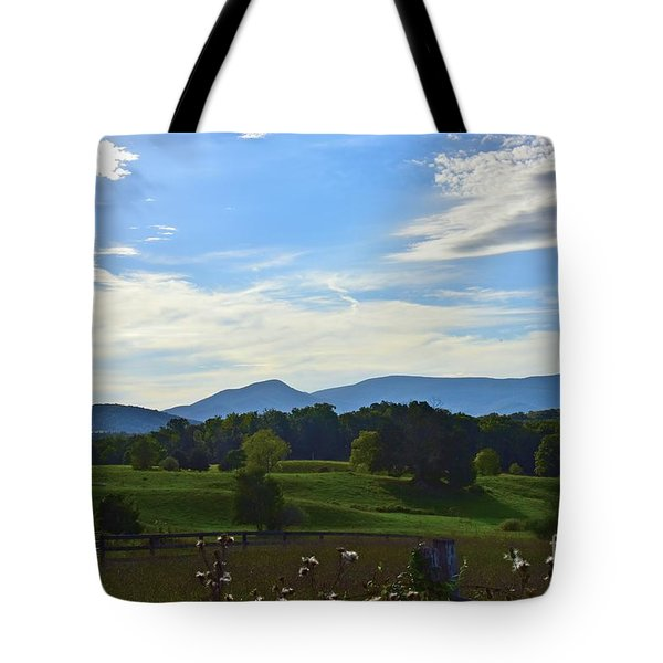 Rolling Hills Tote Bag