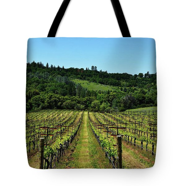 Rolling Hills Winery Grapevines   Tote Bag