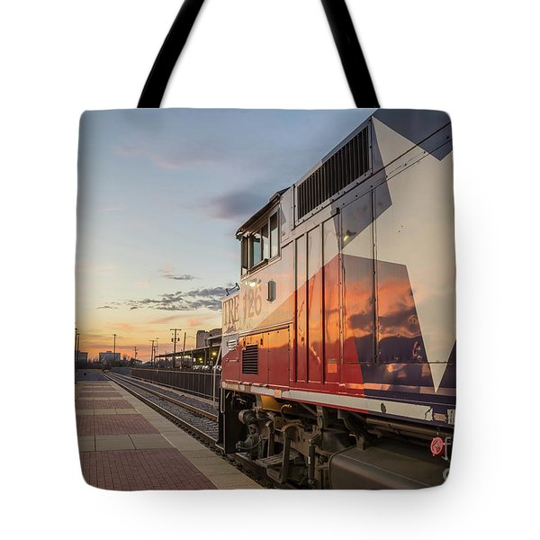 Rolling Into The Sunset Tote Bag