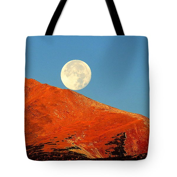 Rolling Moon Tote Bag by Karen Shackles