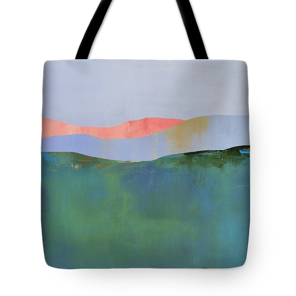 Rolling Mountains Tote Bag by Jacquie Gouveia