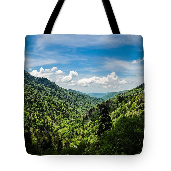 Rolling Mountains Tote Bag